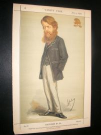 Vanity Fair Print 1870 Duke of Sutherland